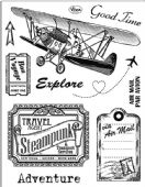 Viva Decor Clear Silicone A5 Stamp Set - Adventure - 4003 111 00